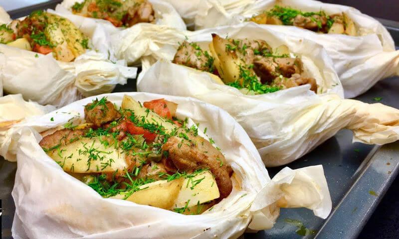 Как вкусно и красиво запечь картошку