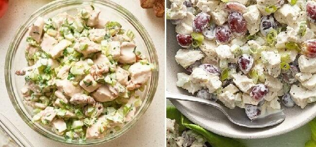 ТОП- 5 рецептов как вкусно приготовить салат с куриным филе!