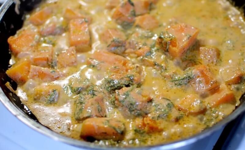Как вкусно приготовить тыкву с чесноком. Пикантная тыква в сметанно-чесночном соусе!