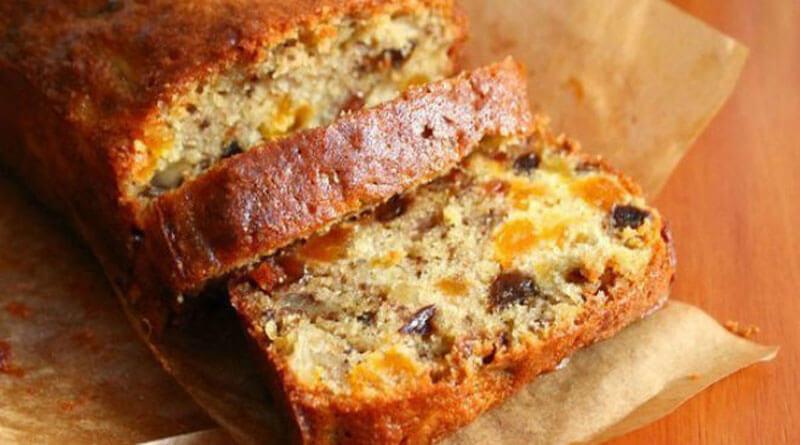 Кекс с сухофруктами и орехами - рецепт потрясающий!