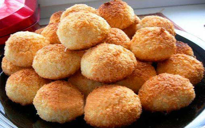 Кокосовое печенье: простой пошаговый рецепт