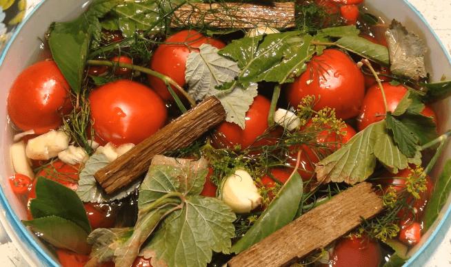 Квашеные помидоры как бочковые!
