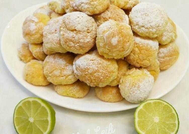 Лаймовое мраморное печенье пошаговый рецепт