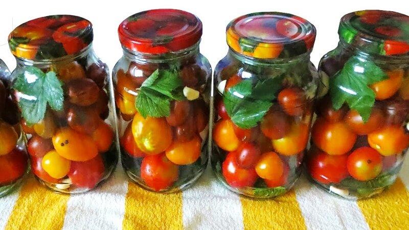 Маринованные помидоры на зиму!