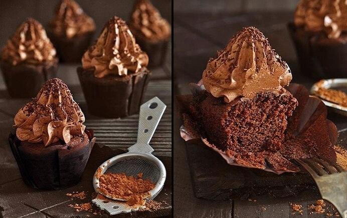 Мега шоколадные кексы «Шоко-шок»