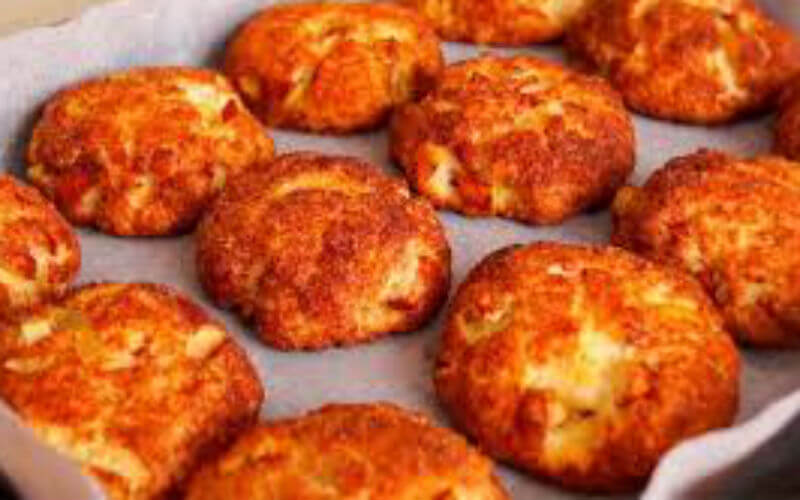 Печенье «Моя прелесть» из творога с яблоками