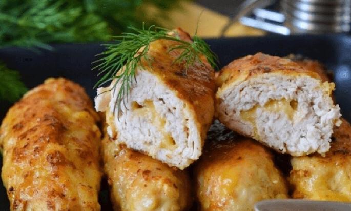 Мясные «пальчики» из куриного филе
