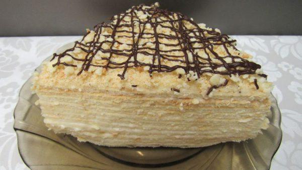 Многослойный «Сметанник» простой и вкусный торт!