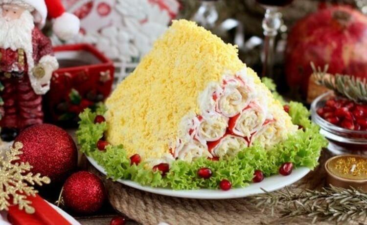 Монастырская изба из крабовых палочек, рецепт очень вкусной закуски!