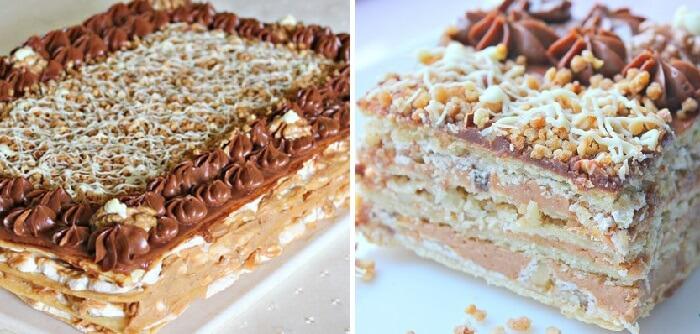 Необычный торт с кремом и меренгой. Потрясающий и незабываемый вкус!