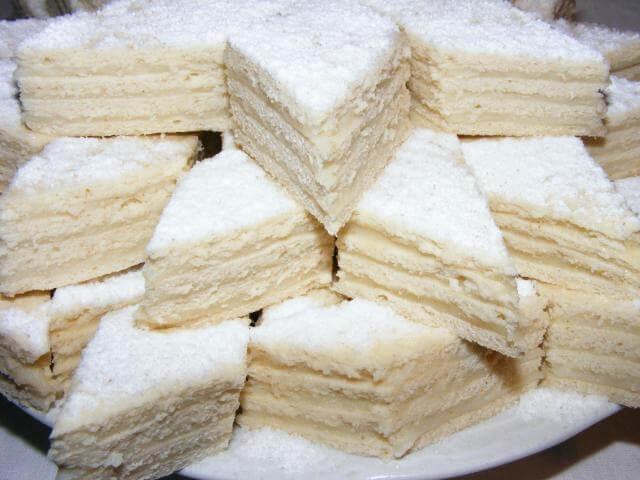 Воздушный торт «Белоснежка»: пошаговый рецепт