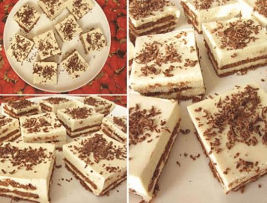 Обалденный торт за 20 минут без выпечки!