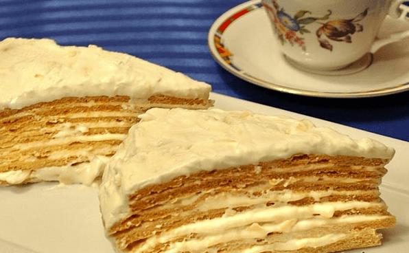 Очень вкусный рецепт торта «Парижский коктейль»
