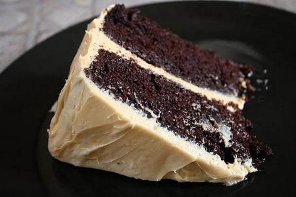 Оригинальный торт «Негр в пене»
