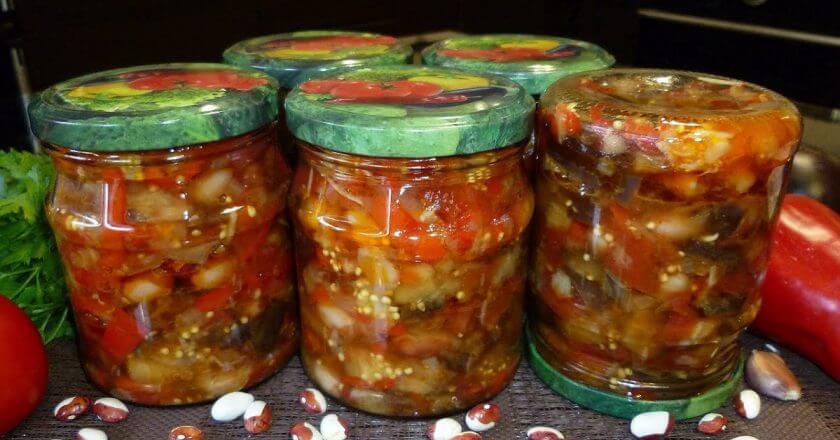 Овощной салат «Черкассы» на зиму