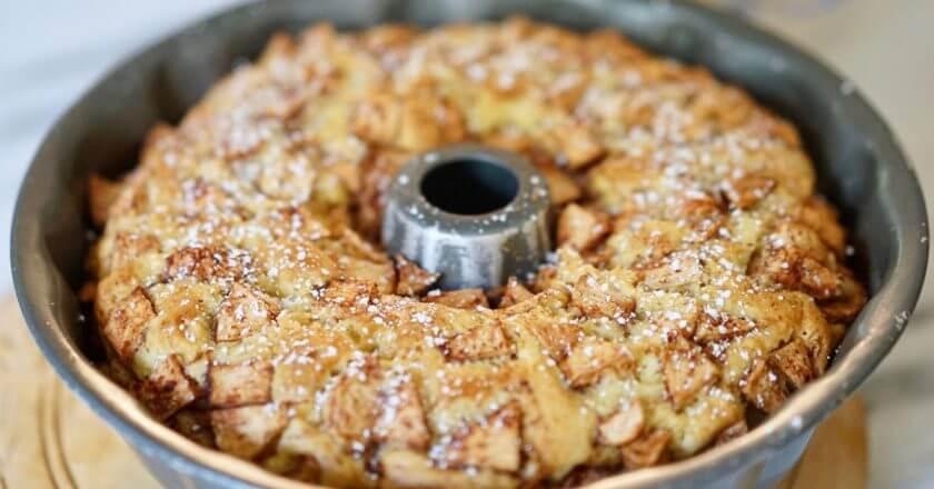 Рецепт еврейского пирога с яблоками в домашних условиях