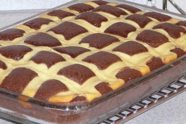 Пирог «Подушки» с творогом рецепт с фото