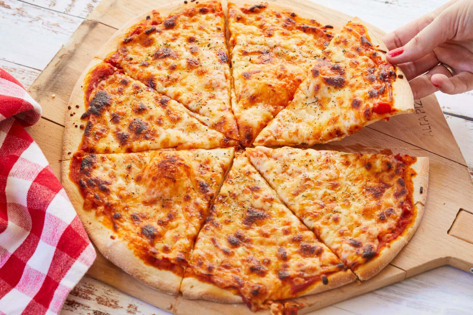 Рецепт теста для пиццы на молоке
