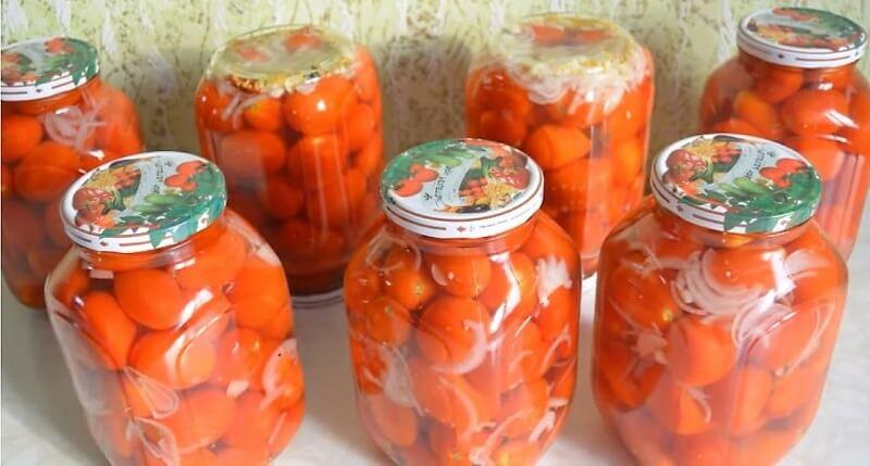Помидоры «Чиполлино». Вкусный рецепт помидоров на зиму!