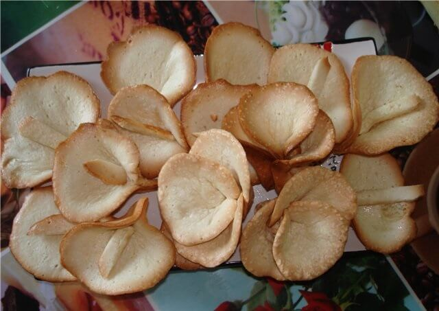 Потрясающе вкусное бисквитное печенье «Каллы»