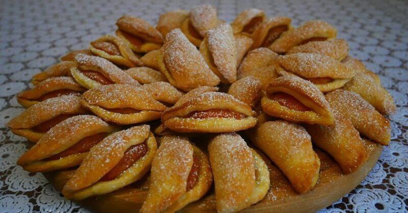 Печенье «Поцелуйчики» с абрикосами