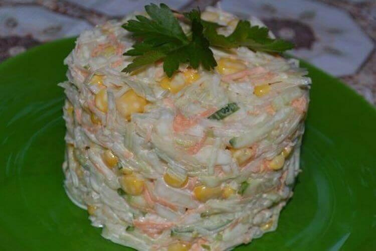 Праздничный салат «Нежность» пошаговый рецепт