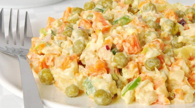 Праздничный салат «Николь»: пошаговый рецепт