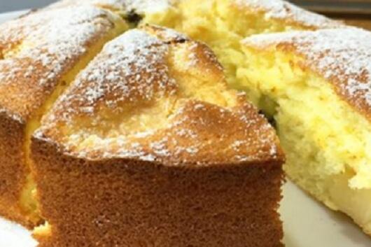 Простой и вкусный бисквитный пирог: пошаговый рецепт
