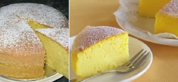Простой рецепт: японский торт из трех ингредиентов!
