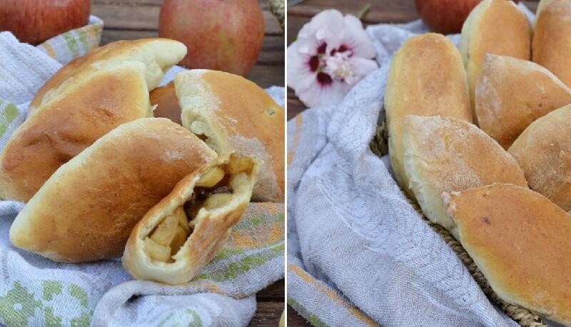 Рецепт холодного дрожжевого теста в холодильнике. Вкусные пирожки с яблоками!