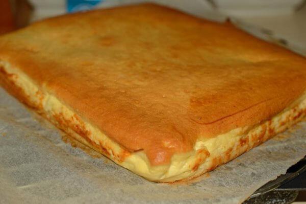 Простой рецепт творожного пирога