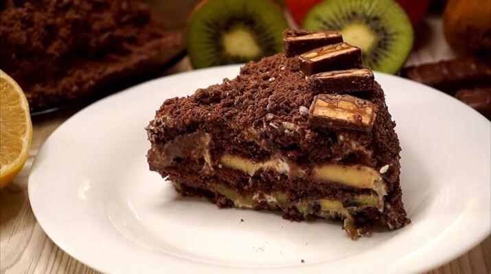Рецепт быстрого торта «Лентяй» без выпечки из пряников