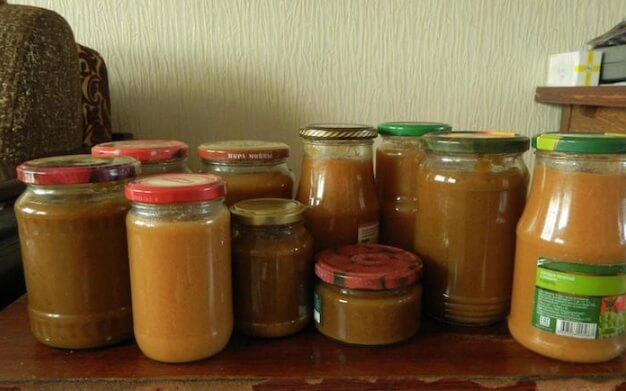 Рецепт домашней сгущенки из груш и молока
