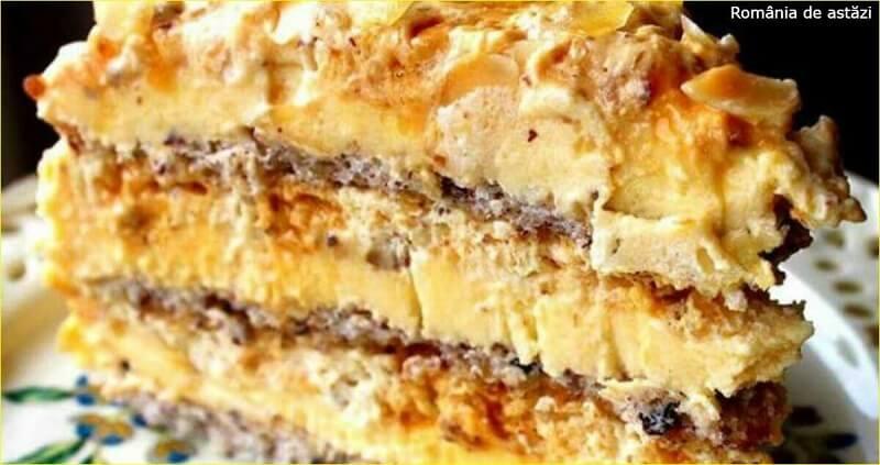 Пошаговый рецепт египетского торта