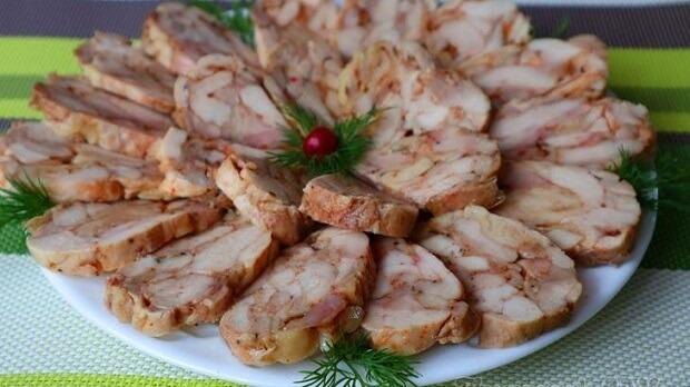Рецепт мясной закуски без желатина!