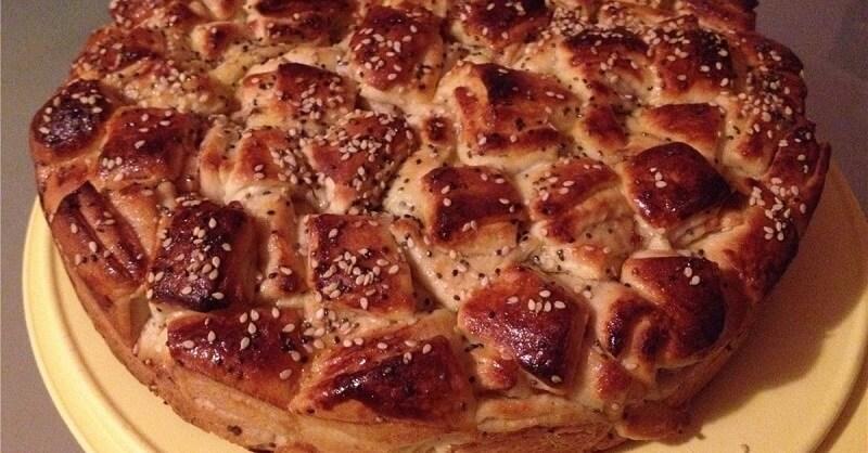 Рецепт необычного дрожжевого пирога «Кубики»
