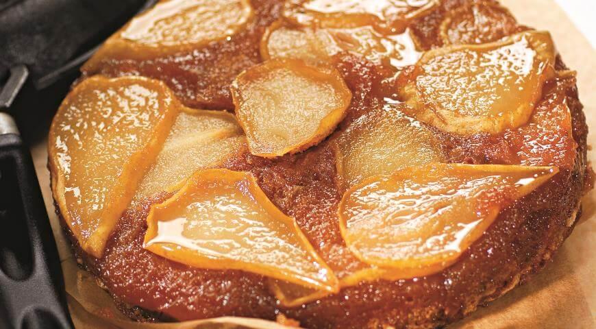 Рецепт пирога с карамельными грушами в духовке. Лучший грушевый пирог!
