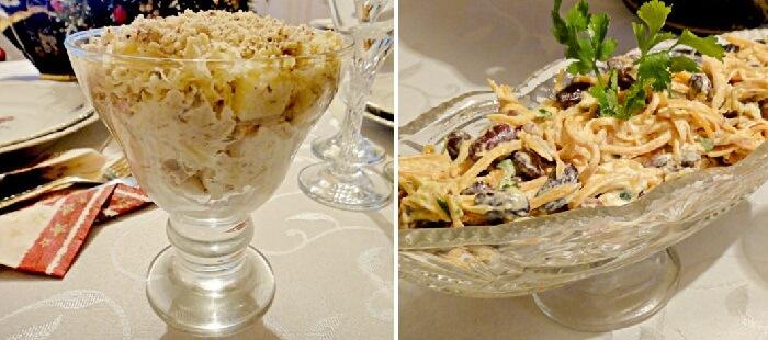 Рецепты праздничных салатов с сыром: вкусно, сытно, быстро!