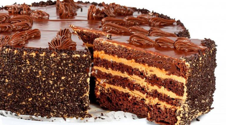 Рецепт приготовления вкусного шоколадного торта «Пеле»