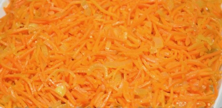 Рецепт салата Гранд с корейской морковкой