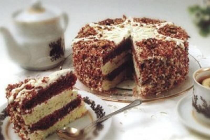 Рецепт торта «Машенька» со сметанным кремом