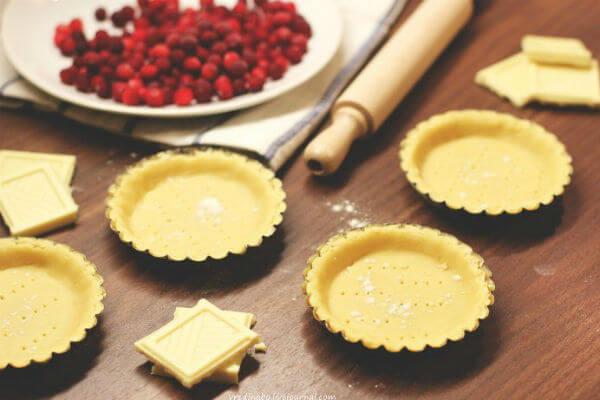 Рецепт закусочной корзинки из теста (тарталетки)