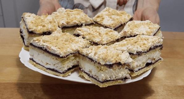Очень вкусный торт Пани Валевская в домашних условиях