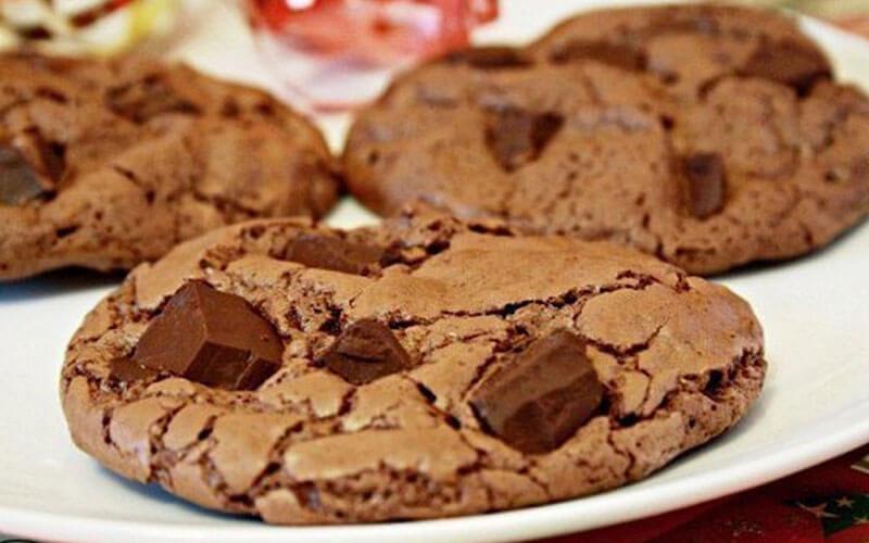 Шоколадное печенье: пошаговый рецепт