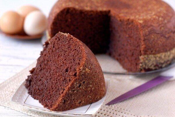 Шоколадный бисквит по-домашнему