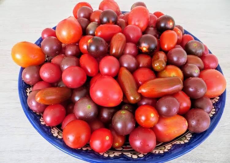 Сладенькие помидоры — праздничные на зиму