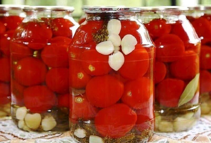Сладкие помидоры с медом на зиму!