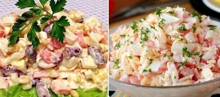 Топ-10 самых быстрых салатов, готовятся всего за 10 минут!