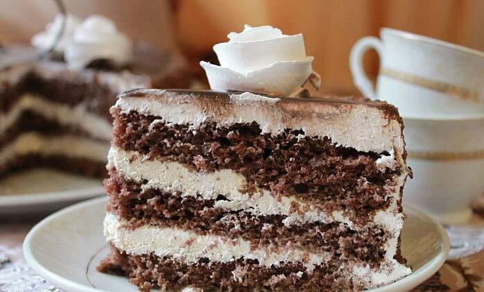 ТОП-5 лучших рецептов шоколадного бисквитного торта!