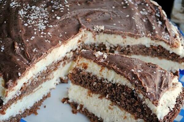 Торт «Bounty» по-домашнему